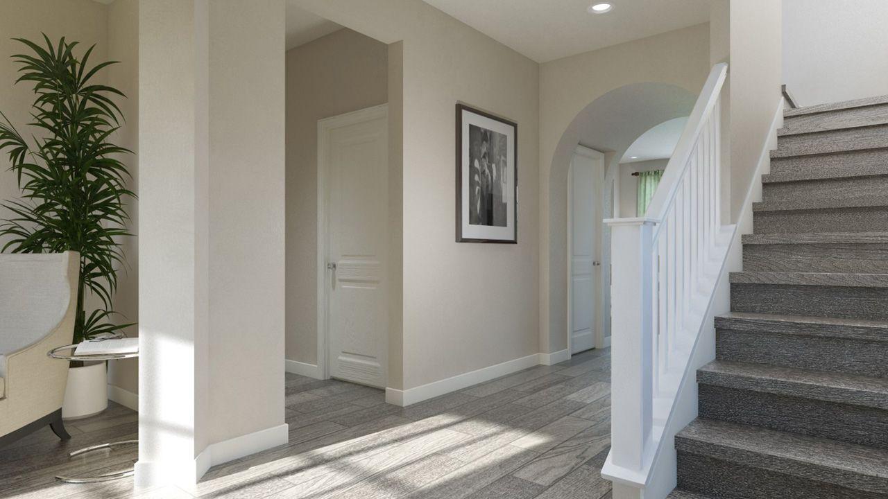 Santa Rosa Entrance & Stairway Area