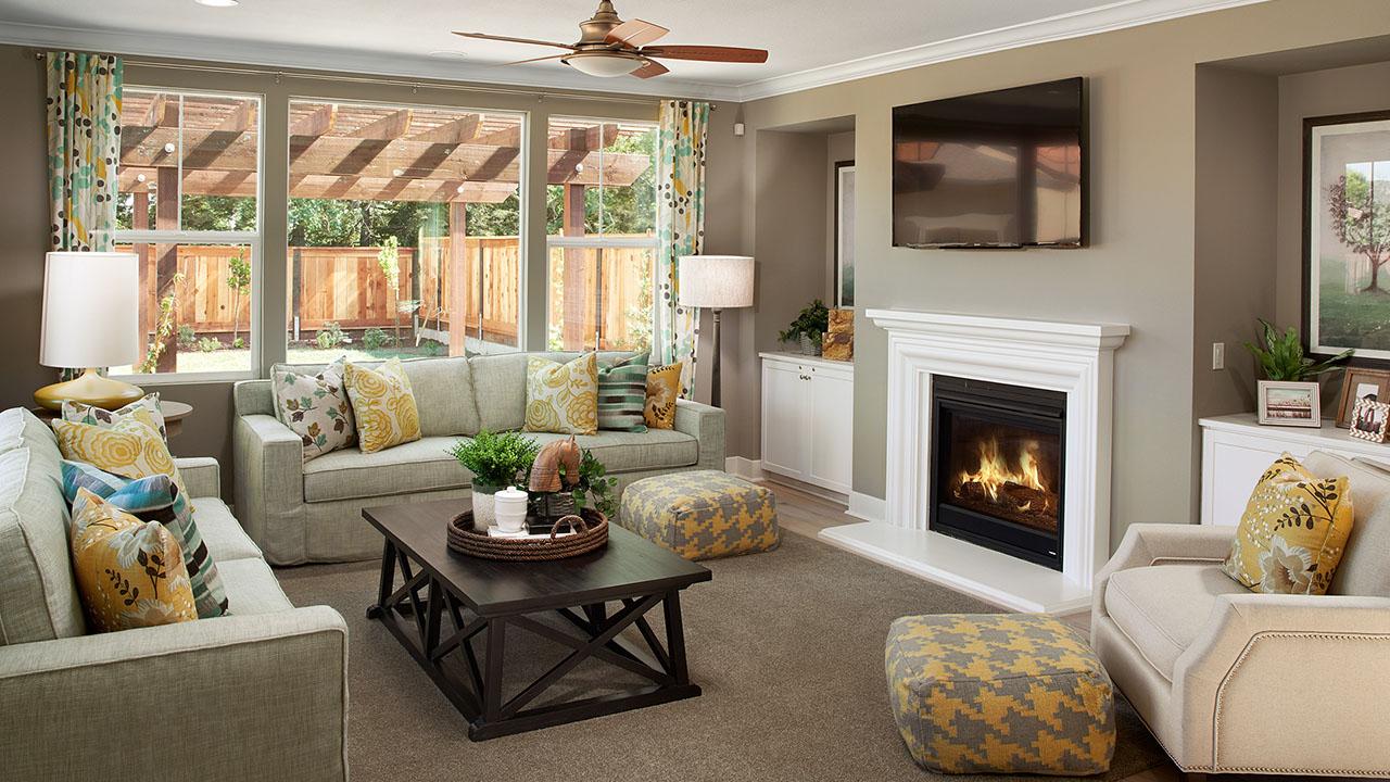 Morgan Hill Solera Ranch Living Room