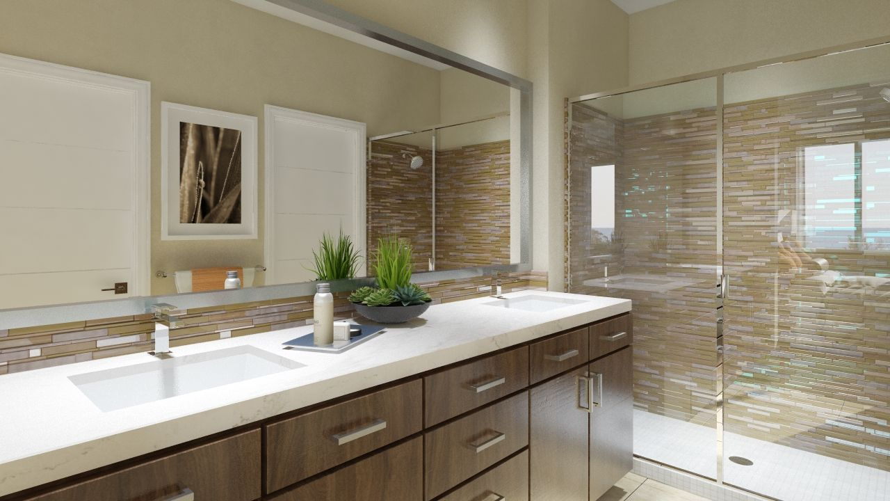 Montebello - Master Bathroom