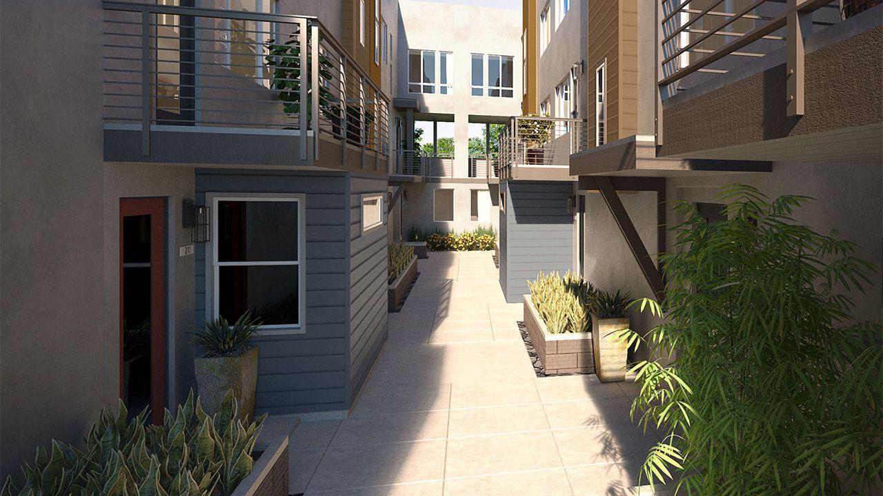 Montebello Courtyard
