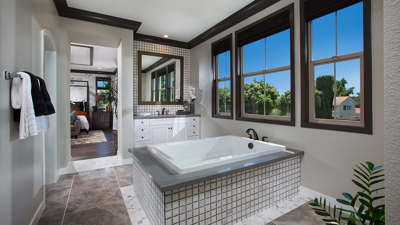 Residence One - Master Bathroom