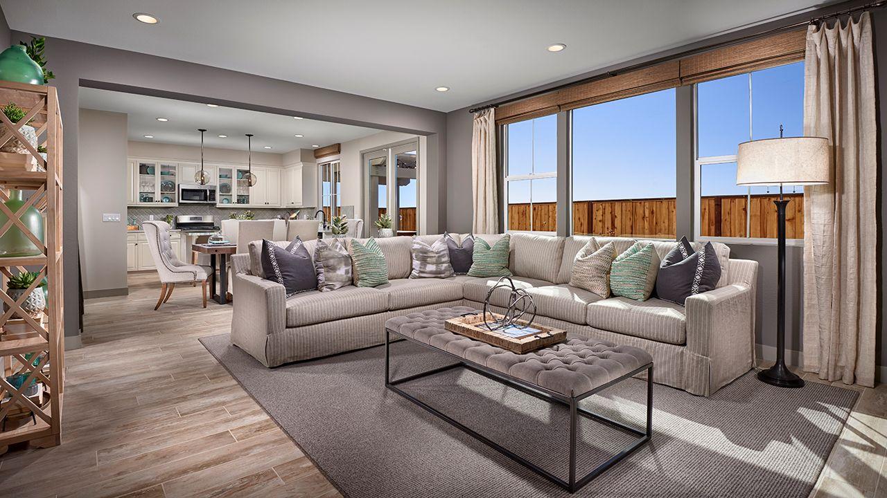 Residence Four - Family Room / Kitchen